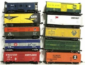 10 N Scale Rare Freight Cars Rapido Couplers......Scroll Down
