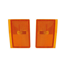 NEW PAIR OF LOWER SIDE MARKER LIGHTS FIT GMC C1500 SUBURBAN GM2551105 5975195