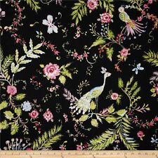 Chinoiserie Chic BIrdsong  Cotton Quilt Fabric Free Spirit  Spring BFab