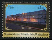 Peru 2014 Krankenhaus Hospital Architektur Architecture Klinik Postfrisch MNH