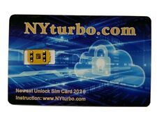 NYturbo iPhone Unlock Sim Chip for iPhone 11 XS Max XR 8 7 6 Plus SE R iOS 13.6