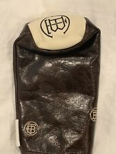 New The Buck Club Seamus Golf Travis Scott Brown Leather Fairway Wood Headcover