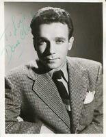 Dane Clark VINTAGE autograph, signed photograph