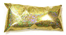 "2oz / 59ml Gold Jewels Holographic Metal Flake .015"" Auto Paint Additive - LF172"
