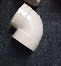 "(2)  90 Short EL  Central Vacuum 2"" PVC Rough-in Fitting"