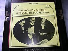 Seraphim Hungarian Quartet Boxset Near MINT 3 Lps inlays and box Beethoven 1-6