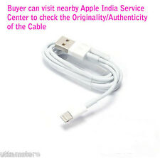 100% Original Apple™ 8 pin Lightning USB Data Cable iPhone iPad 5 5c 5s 6 plus
