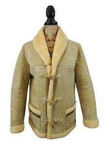 Women's Vintage Sheepskin Coat Size 10