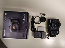 Canon PowerShot G1X damaged defect for parts only ,  lcd works good , no return