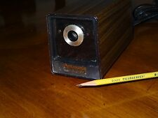 Vintage Panasonic KP-77 Auto Stop Electric Pencil Sharpener Japan Wood Grain