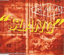 DEF LEPPARD - Slang (UK 4 Track CD Single Part 1)