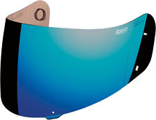 ICON PROSHIELD MOTORCYCLE AIRFRAME ALLIANCE HELMET SHIELD VISOR BLUE CHROME