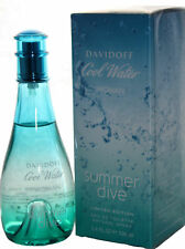 COOL WATER SUMMER DIVE BY DAVIDOFF 3.4 OZ EDT FOR WOMEN
