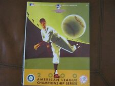 2000 AMERICAN LEAGUE CHAMPIONSHIP SERIES - NY YANKEES vs SEATTLE MARINERS