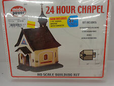 Model Power #298 HO 24 Hour Chapel building kit New in factory sealed box
