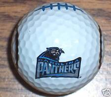 (1) NFL FOOTBALL CAROLINA PANTHERS LOGO GOLF BALL BALLS