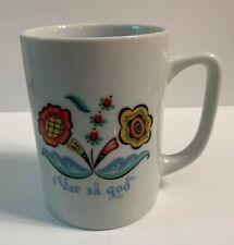 Berggren Coffee Mug Tea Cup Var Sa God Swedish Greeting By Bergquist Ceramic