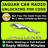 JAGUAR RADIO PIN CODE UNLOCKING DECODE X S TYPE XF XJ XE F-PACE E-PACE INSTANT