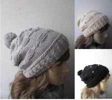 Markenlose Damen-Bommel Damenhüte & -mützen