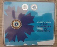 Très RARE 2 euro BU colorisé Le Bleuet de France 2018 France