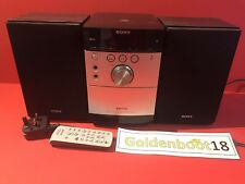 SONY MICRO HI-FI COMPONENT SYSTEM CMT-EH15 WITH REMOTE WORKING TESTED