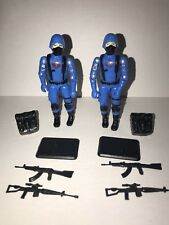 GI Joe Black Major Custom Brazil Soldado Troopers Set Of 2 Red Logo/ Mickey
