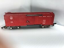 Vintage Ac Gilbert American Flyer No. 633 B&O Tuscan  Boxcar S Guage/scale