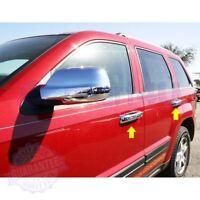 Fit 2005 2006 2007 2008 2009 2010 Jeep Grand Cherokee Chrome Door Handle Covers
