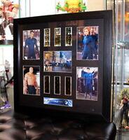 Fantastic Four Film Cell Frame Movie Memorabilia w/ COA Christopher Evans