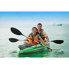 Intex K2 Challenger Kayak 2 Man Inflatable Canoe With Oars #68306 1 Size