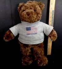 Gund Plush Brown Bear 2000 May Dept Special Edition Stars and Stripes Shirt 15""
