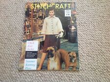 STITCHCRAFT Ladies Vintage Knitting Magazine April 1960