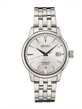 New Seiko Presage Automatic Sunray Dial Stainless Steel Mens Watch SRPB77