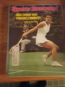 Evonne Goolagong wins again - Sports Illustrated - 4/26/1976  tennis