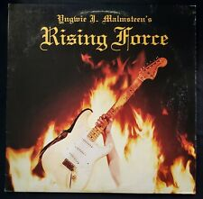 "YNGWIE MALMSTEEN~RISING FORCE~ORIG '84 U.S. (ARC) PRESSING~""STERLING"" STAMP"