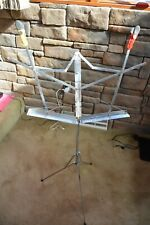 Vintage Hamilton Classic Fold-up - Compact- Music Stand 600-N- Extra Add-ons-
