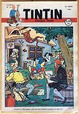 TINTIN Édition belge fascicule n°12 du 24 mars 1949 Très bon état
