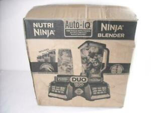 NEW NUTRI NINJA BL642 DUO 1500W AUTO-IQ PROFESSIONAL POWER BLENDER EXTRACTOR