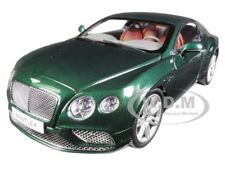 2016 BENTLEY CONTINENTAL GT COUPE VERDANT GREEN 1/18 DIECAST BY PARAGON 98222