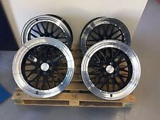19 Zoll Ultra Wheels UA3 5x112 Schwarz et45 Gutachten Le Mans für S3 GTI R 32 RS