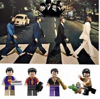 Custom Designed For Fan The Beatles Mini Figure NEW UK Seller Fits Brands Blocks
