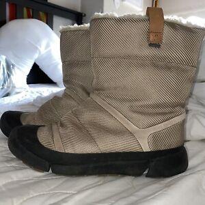 Clarks Ladies Pull-on Boot TRI ASPEN GTX Desert Textile UK 6.5 / 40 RRP £110