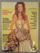 Cosmopolitan Revista Diciembre 1992 Frederique Madonna Nicolas Cage Marisa Tomei