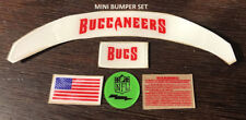 Buccaneers MINI Speed  Football Helmet Decals Bumper Set -