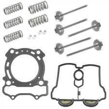 Cylinder Head Gasket And Intake Exhaust Valve Kit Fits Yamaha YZ250F 2001 - 2013