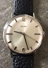 DOXA Swiss Elegant Rare Vintage Men's Watch 1960's Cal 103 New Leather Band