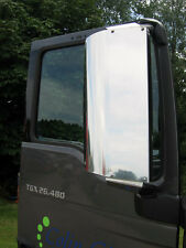 MAN TGX Euro 4, 5 & Euro 6 Stainless Steel Mirror Guards. Truck Mirror Guards