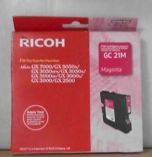 ORIGINALE RICOH GC 21m Cartuccia di stampa per GX 7000 5050n 3050sfn 3050n 3000 2500