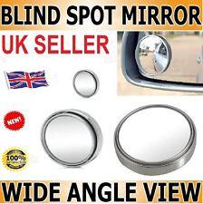 2x convesso Blind Spot specchio traino retromarcia Driving Adesivo Auto Furgone Moto