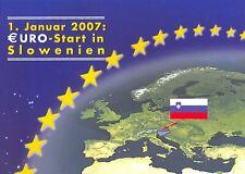 Slowenien Euro KMS Euro 1 Januar 2007 Start in Slowenien